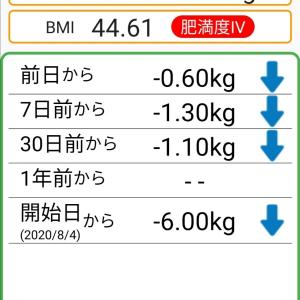 体重記録66日目
