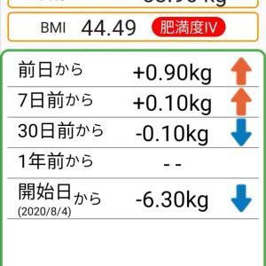 体重記録79日目