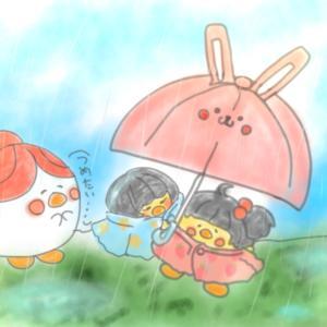 雨のち雨である時々もなく雨、結論雨!!!