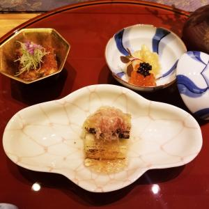【酒肴】茄子や白アスパラなど季節盛り合わせ。