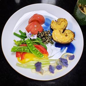 【レシピ】五色の野菜と果物を