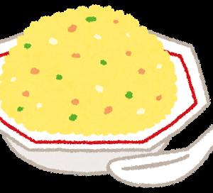 チャーハンは箸で炒めるとパラパラになる。
