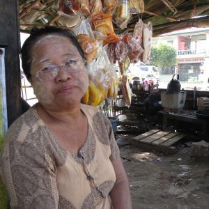 ミャンマーのマンダレーで散歩。