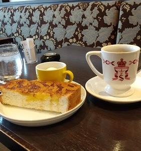 夫婦で朝カフェモーニング|楽しい時間とゲリラ豪雨で夫ずぶ濡れ・・