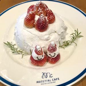 Material Cafe ~可愛すぎるクリスマス仕様のパンケーキを食べてきた‼︎~