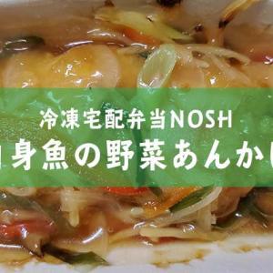 冷凍宅配弁当レビュー【白身魚の野菜あんかけ】
