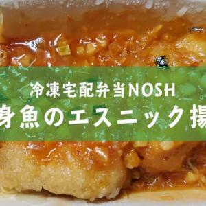 冷凍宅配弁当レビュー【白身魚のエスニック揚げ】