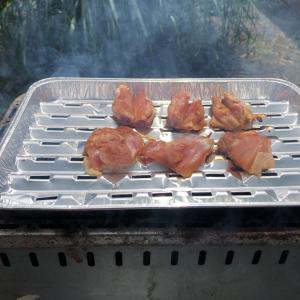 ソロ BBQ 松阪 鶏 焼肉 風