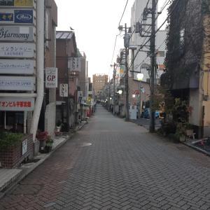 宇都宮市歓楽街泉町を早朝ジョギング