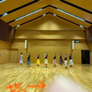 今日の水曜日レッスン♪ラ・ペアーレ浜田入門クラス&パレットごうつフラ&タヒチ教室