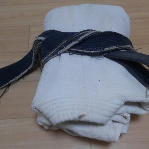【NFT作品】柔道着(情緒版)Folded black belt judo wear (emotional version)
