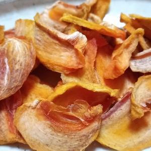 甘い柿で干し柿