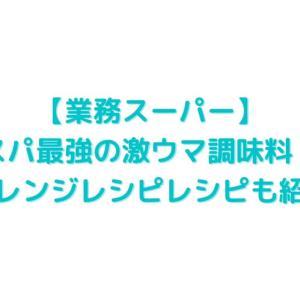 【業務スーパー】コスパ最強の激ウマ調味料!!アレンジレシピレシピも紹介