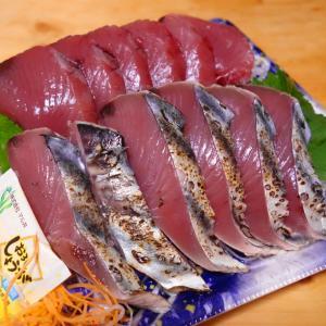 ベリー【三重県産 生カツオお造り】youtubeで「美味しんぼ」を見て醤油マヨで頂きます