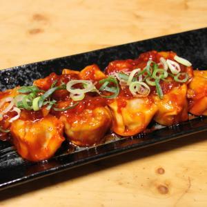 自炊?【肉団子チリソース煮】チルドシュウマイを使って、お安くお気軽に~