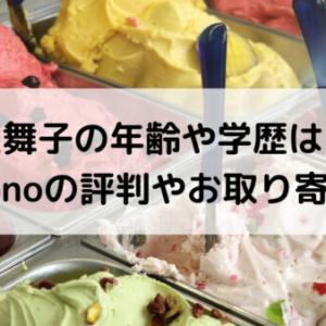 井上舞子/ジェラートの年齢や学歴は?「AmiCono」の評判やお取り寄せも!