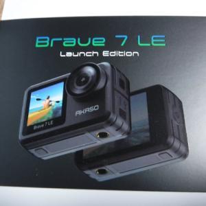 アクションカメラ AKASO Brave 7 LE を購入した