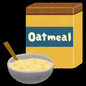 【雑記】オートミールの食べ方について