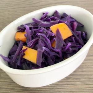 今日は心安らかに紫キャベツ消費でもしよう