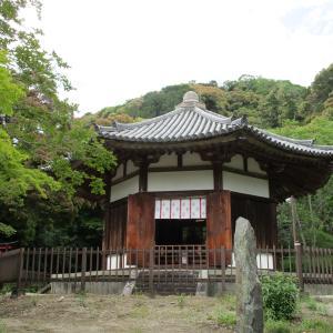 さつきの空と吉野川 ― 栄山寺 ―