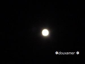 11月最後の夜の満月