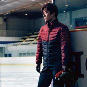 MIZUNO(ミズノ) テックフィルブレスサーモジャケット、かっこいい昌磨君の写真
