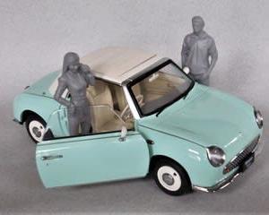 国産名車コレクション 1/24 フィガロ & パイクカー検定Q39