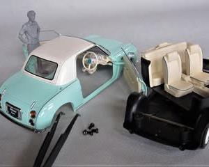 国産名車コレクション1/24フィガロの修正 & パイクカー検定Q40
