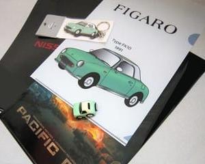 FIGAROのクリアファイル