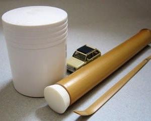 茶杓筒の蓋 完成