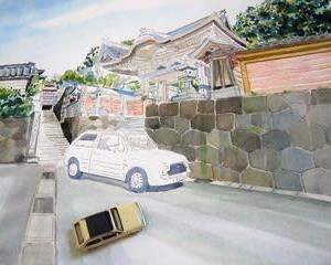 山門を描く その3