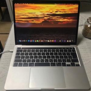 最新MacBook Pro 13 inch 256GB すごくイイ