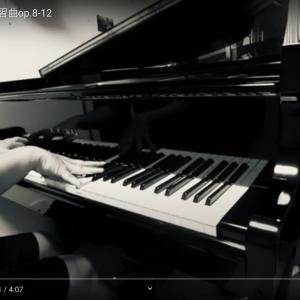 スクリャービン練習曲op.8-12「悲愴」自撮り動画