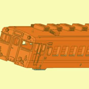 車両狂想曲第1番「キハ58系」【第24楽章】マスキング治具とボディ再設計