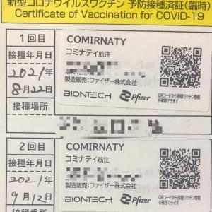 【ワクチン接種2回目完了!!】接種後何時間で熱がでるのか?自身の体験をリアルタイム更新