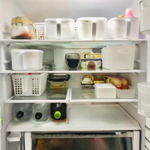 冷蔵庫チェック&ささっと掃除