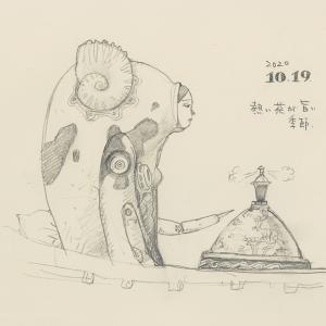 20201019絵日記 「天才玉子君」