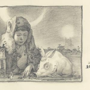 20201027絵日記 「ペットロス。」