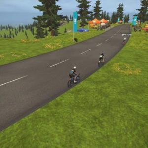 Tour de Zwift 2021 ステージ3(A) Serious Mountain Routes