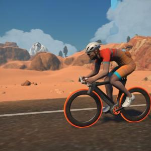 ZWIFT Olympic Virtual Series Chase Race (第3週 A)に参戦
