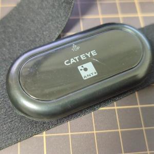 【レビュー】CATEYE HR-11 心拍センサー ~安心の2年間保証 高信頼性のAnt+心拍計~