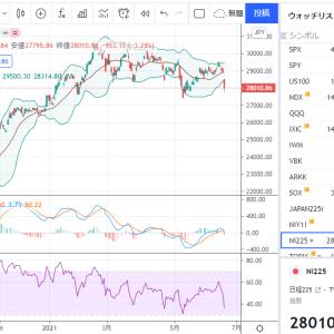 株、金、仮想通貨などが下落中、今は個別株に集中するべき!