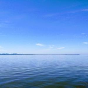 旅ラン!「あそう温泉 白帆の湯」の周辺は青が続く走りやすいランニングスポットだった