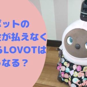 ラボット本体を買って月額料金が払えなくなったらLOVOTはどうなる?