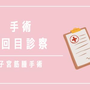 【不妊治療のブログ】子宮筋腫手術の2回目診察