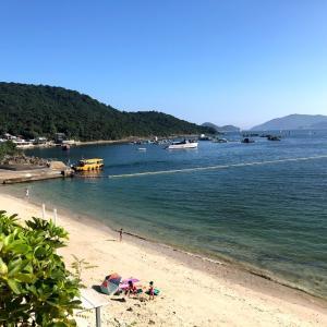 [香港ビーチ]トリオビーチは穴場でおすすめ!魚もカニもいたよ。