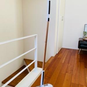 床の拭き掃除に絶対オススメしたい!コードレス回転モップクリーナ