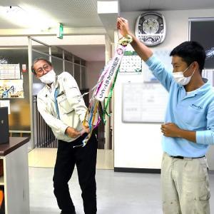 営業チームの和さん、お誕生日おめでとうございます!