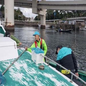 チーム念仏鯛定例会in横浜新山下港【シロギス船】