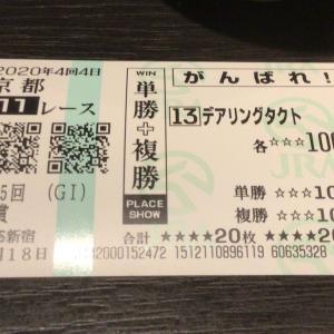 無敗の牝馬デアリングタクト☆三冠達成ありがとう!!!
